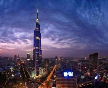 (出租) 绿地广场紫峰大厦166平米整租精装可注册