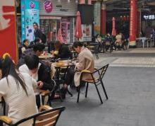 江边大学城义乌小商品城A区小吃街。有外摆座位