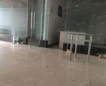 (出租)万达中心130平5万每年 3个玻璃隔断 双开玻璃门 看房方便