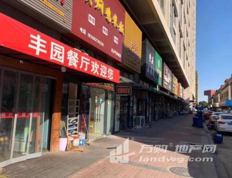 (出售)湖塘高力国际纯一层沿街商铺(挑高7.9米 买一层得2层)