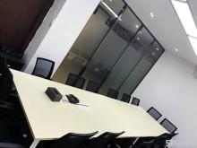 地铁口苏宁睿城精装玻璃百叶隔断楼盘高大上随时租用