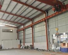 (出租)震泽盛八线附近标准钢结构厂房600平,层高8.5米,有行车