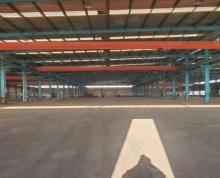 (出租)镇江新区钢结构厂房,层高12米,厂房方正,有行车!