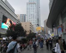 (出租)新街口核心商圈。临街门面出租。人流量密集。餐饮执照齐全。