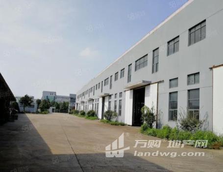 (出租)W禄口标准单层厂房2300平带行车带院子出租