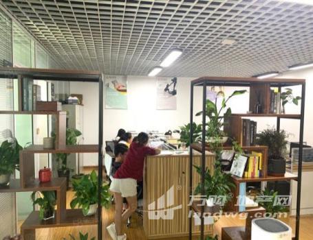 (出租)万科丨精致装修 全套家具 拎包办公 地铁口 方便招人随时看房