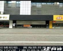 (出租)赣榆区黄海路苏果超市门口临街商铺,南北码头隔壁可分开租